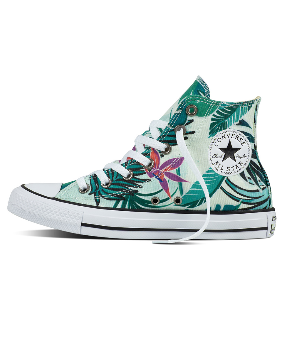 Sneakers - tenisky Converse Chuck Taylor All Star Fiberglass / Menta / White 40