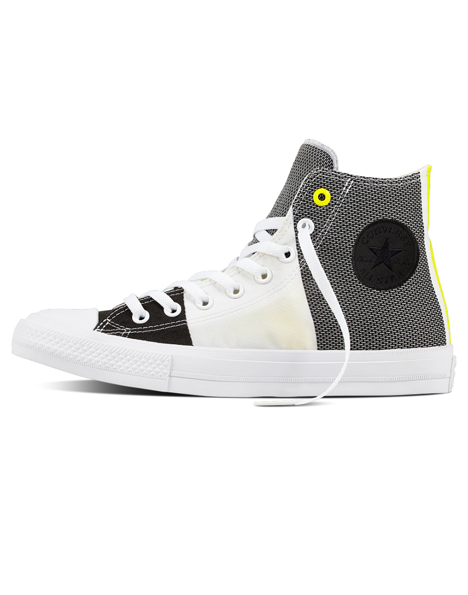 Sneakers - tenisky Converse Chuck Taylor All Star II White / Black / Fresh Yellow 41