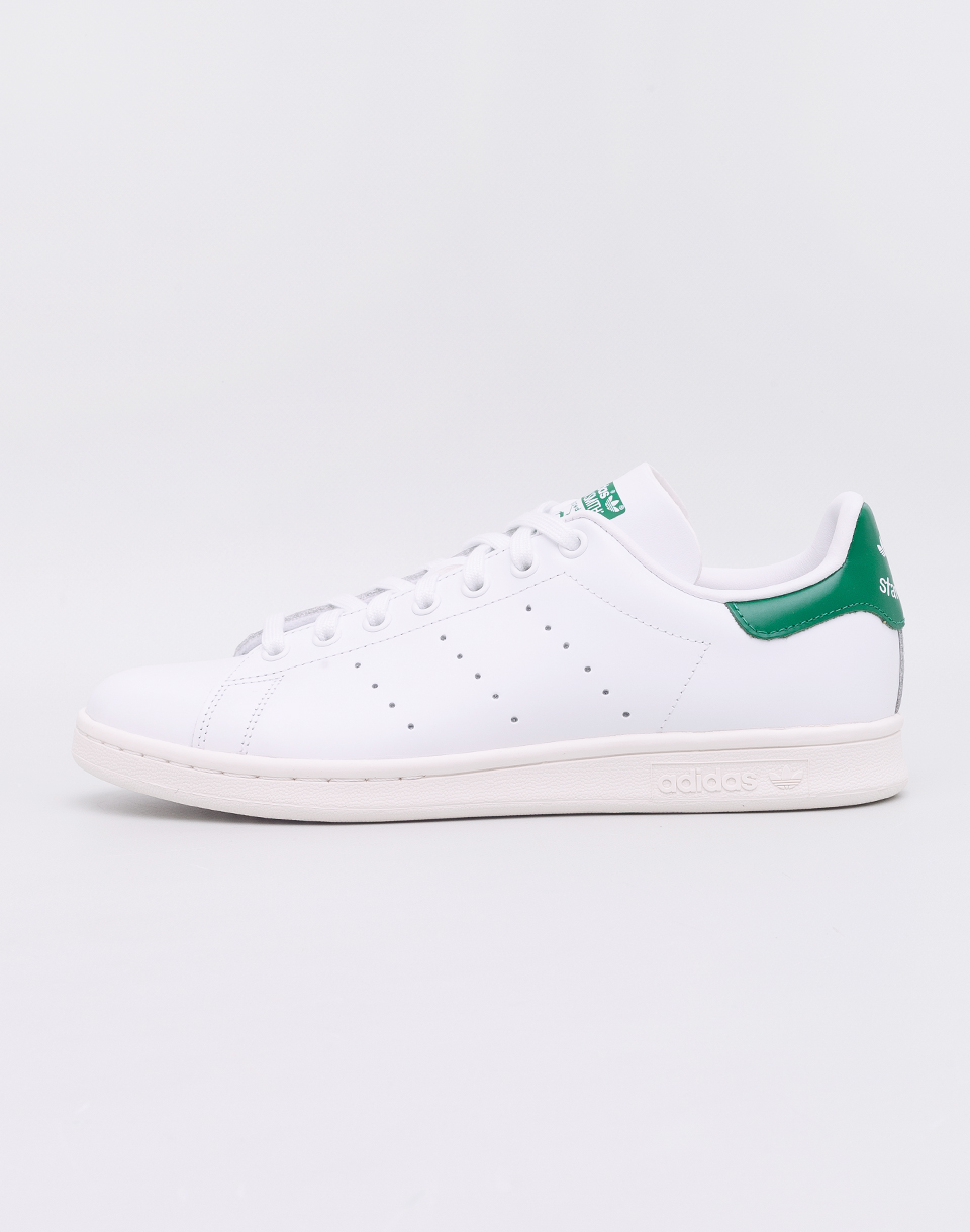 adidas Originals Stan Smith Footwear White/ Off White/ Bold Green 41