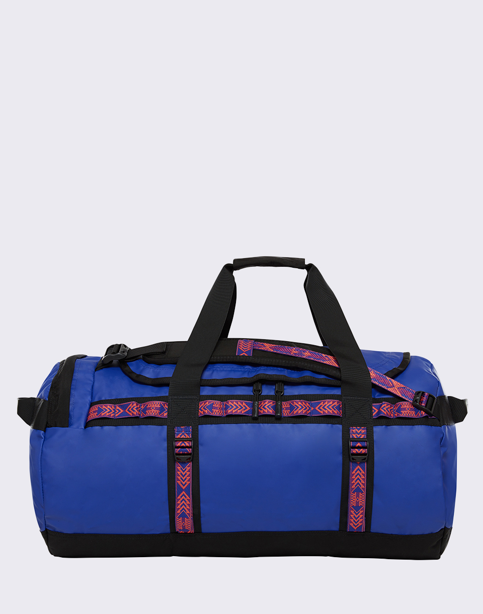 The North Face Base Camp Duffel M Aztec Blue/ TNF Black