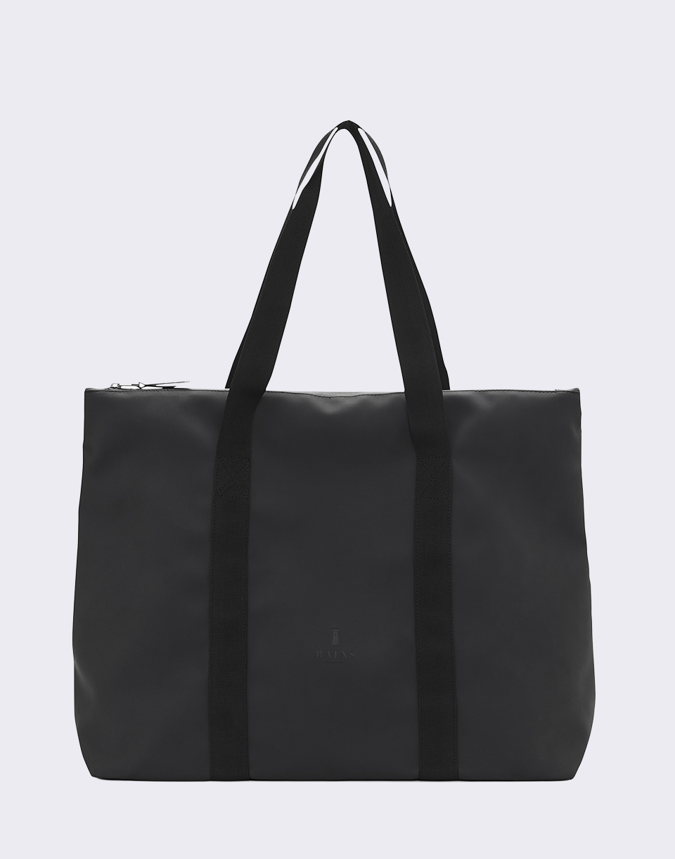 Rains City Tote 01 Black