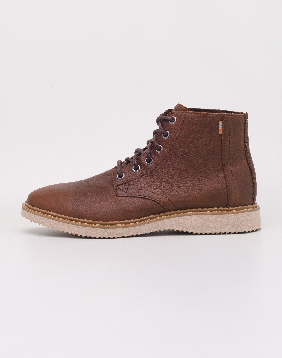 Toms Porter Dark Brown Leather 42