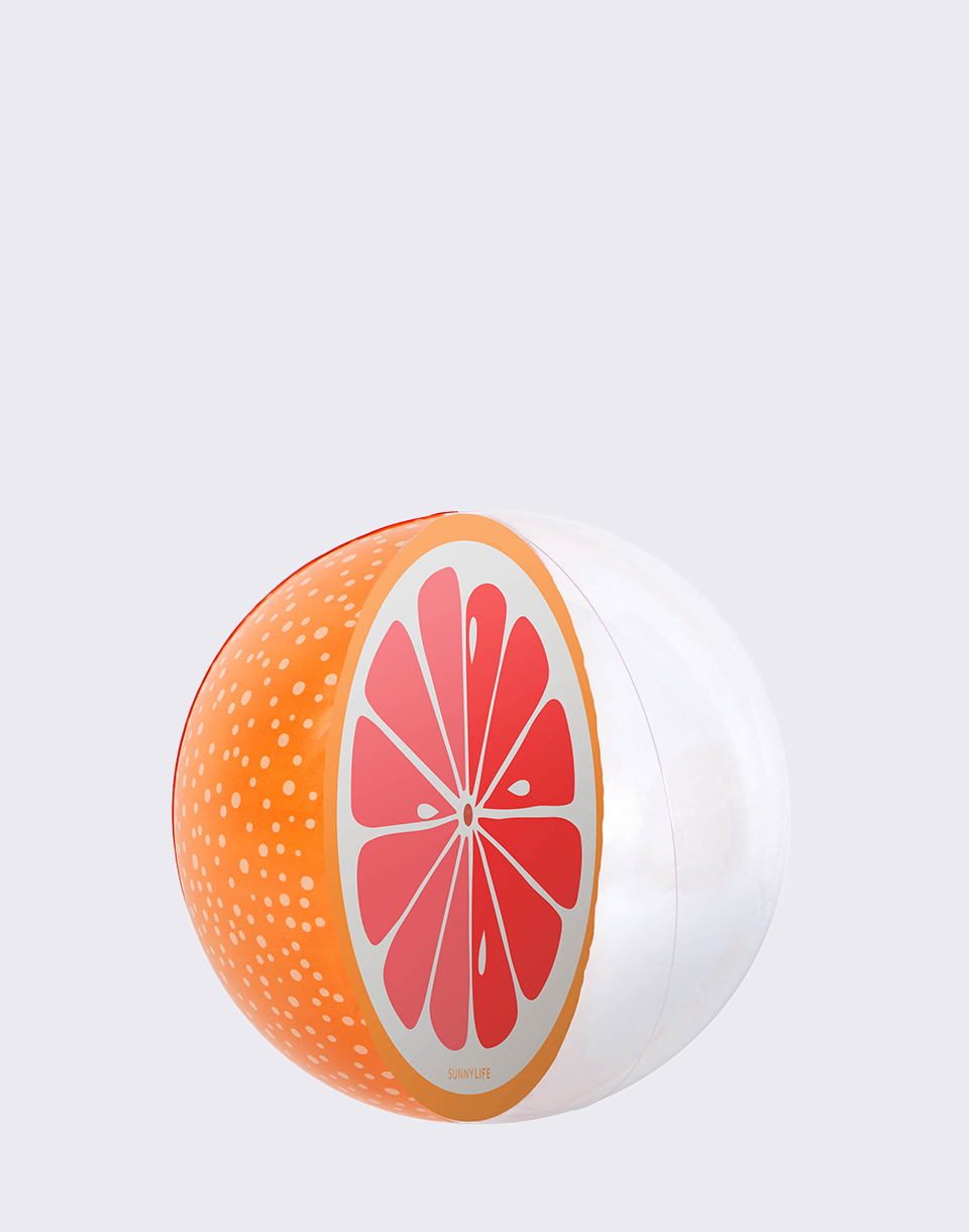 Sunnylife Inflatable Ball Grapefruit S8MBASGF