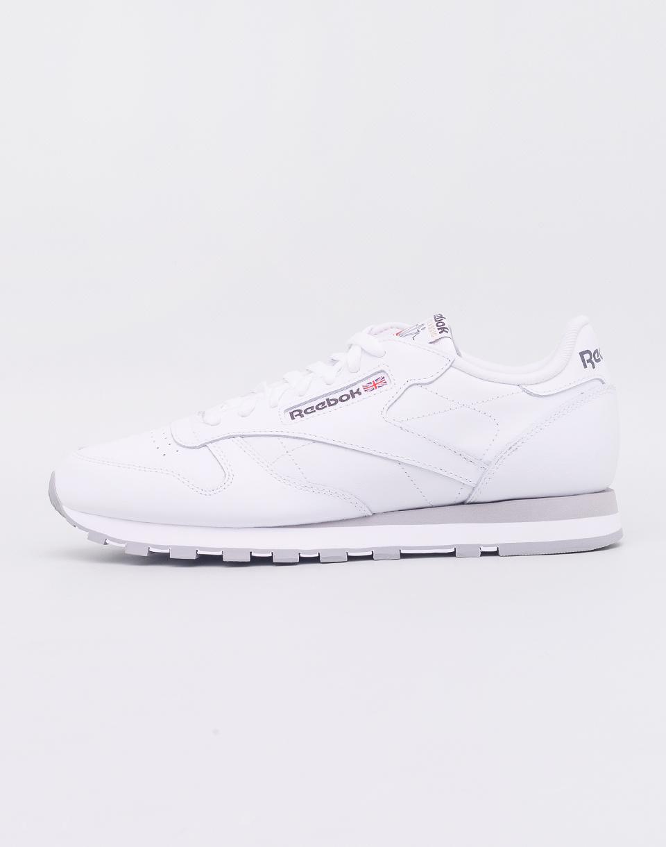 Reebok Classic Leather White/ Light Grey 41