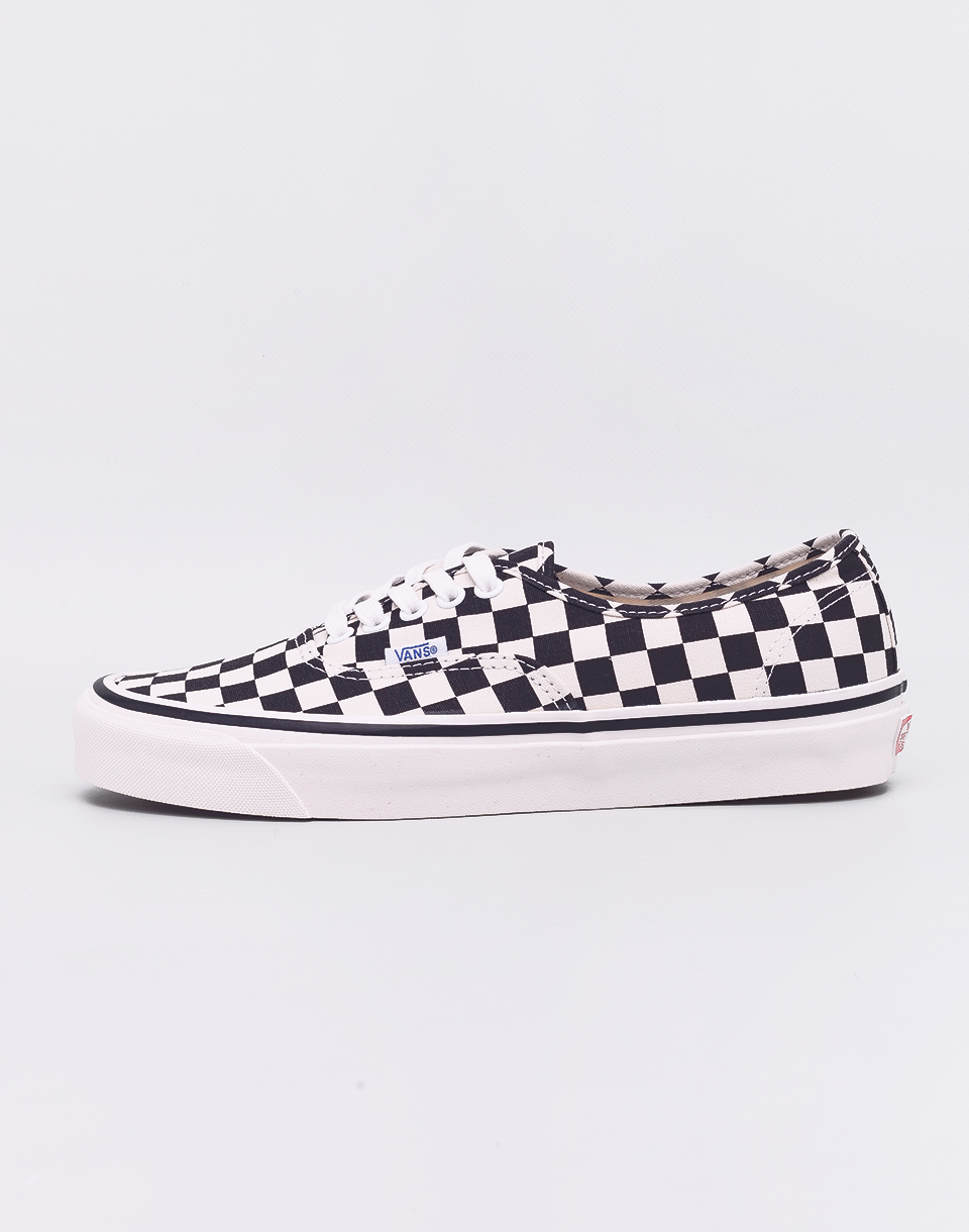 Vans Authentic 44 DX (Anaheim Factory) Black   Check 42