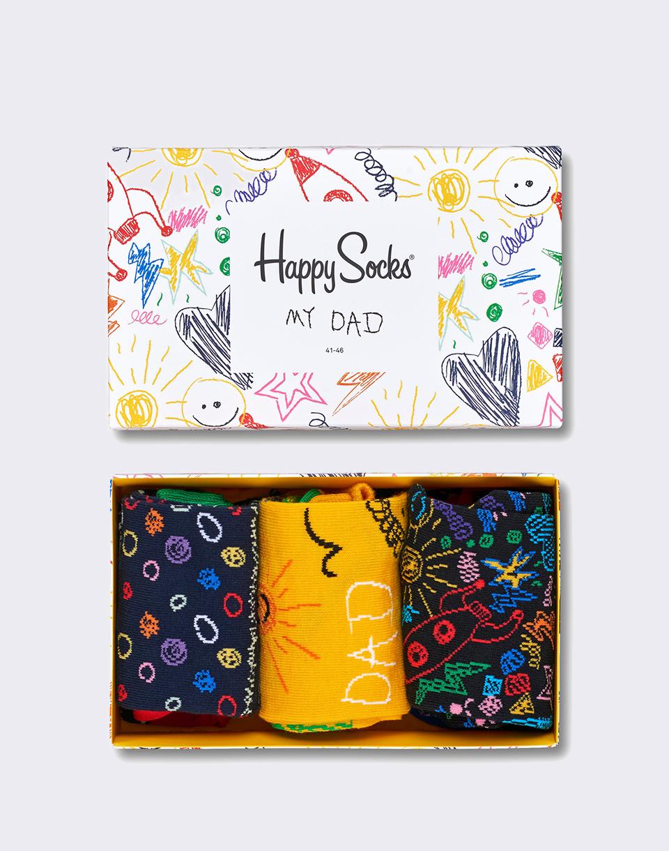 Happy Socks Father's Day Gift Box XFAT08-2000 41-46