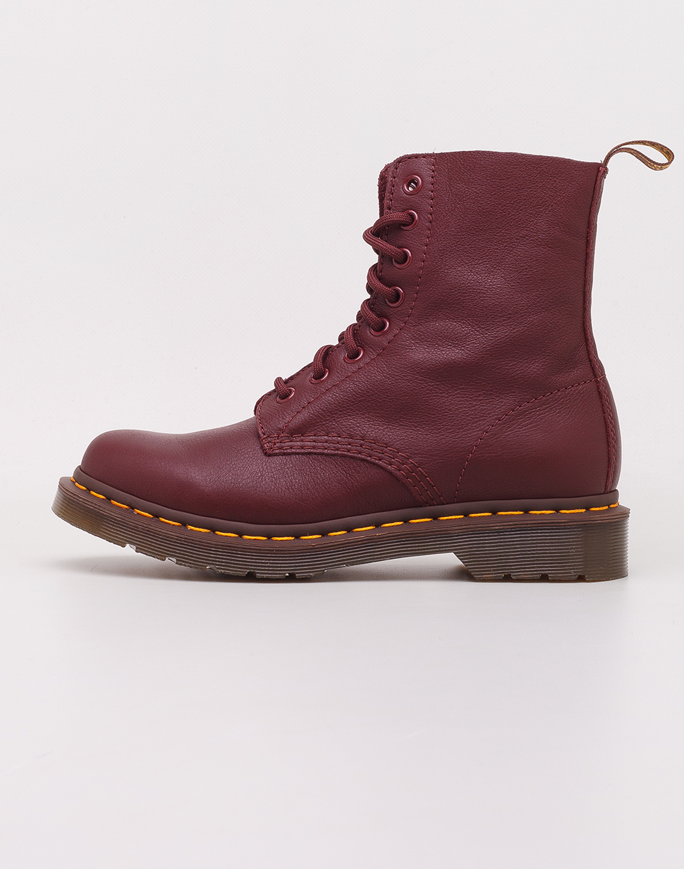 Dr  Martens 1460 Pascal Cherry Red Virginia 36