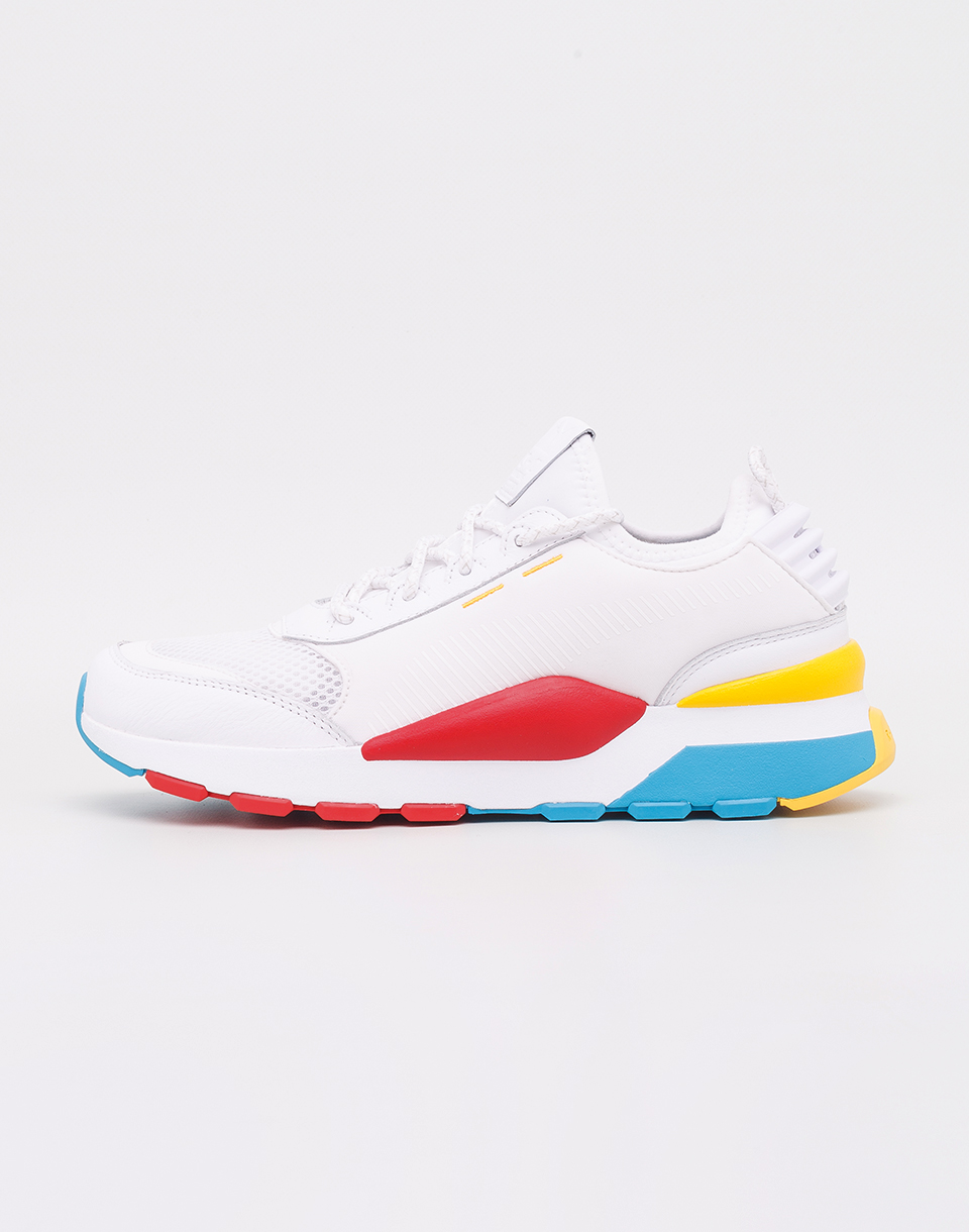 Puma RS 0 Play Puma White Hawaiian Ocean Dandelion 38