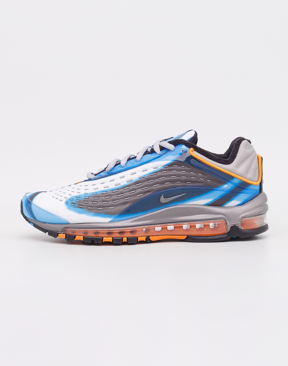 Nike Air Max Deluxe Photo Blue  Wolf Grey  Orange Peel  Black 42