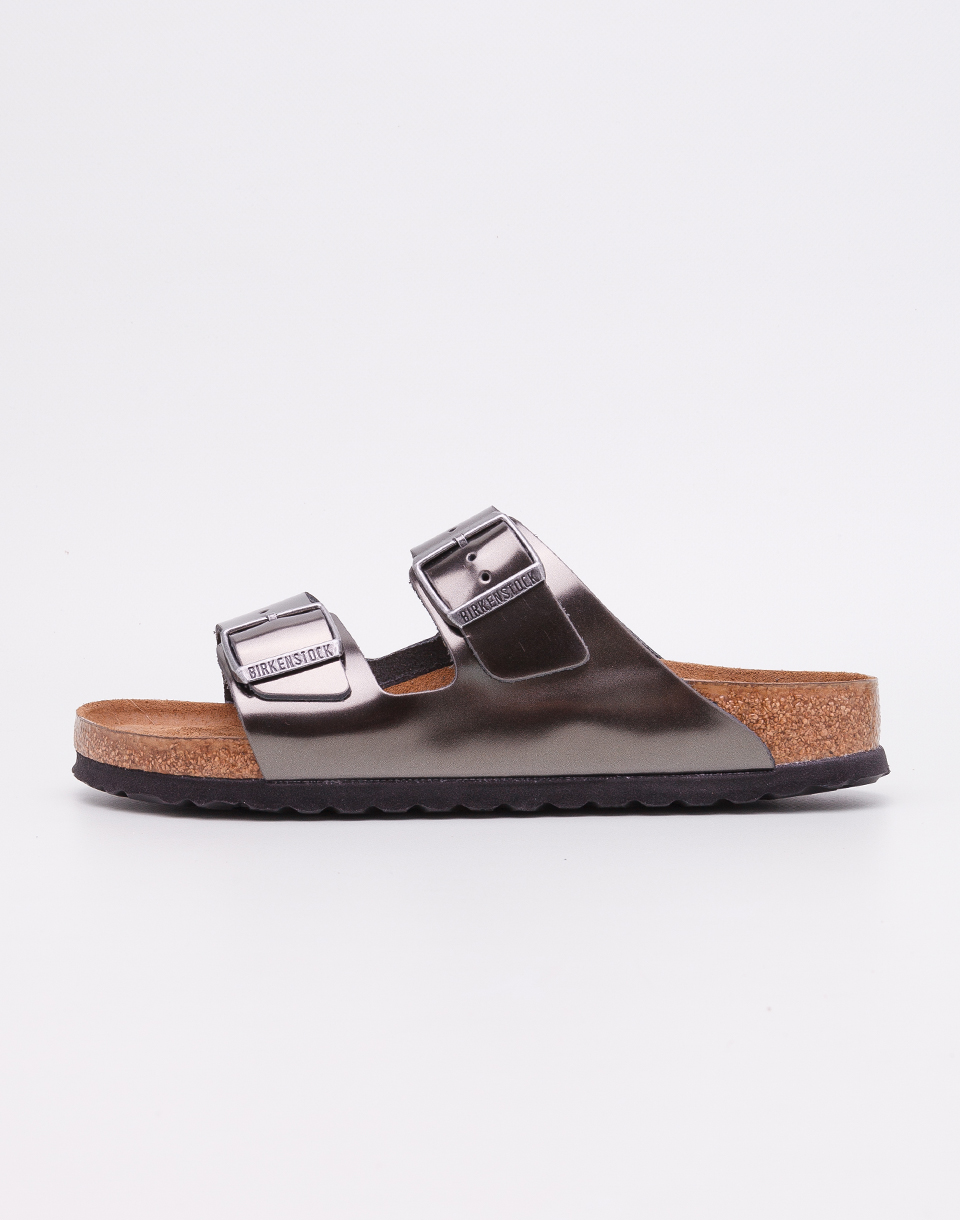Birkenstock Arizona Metallic Anthracite 38
