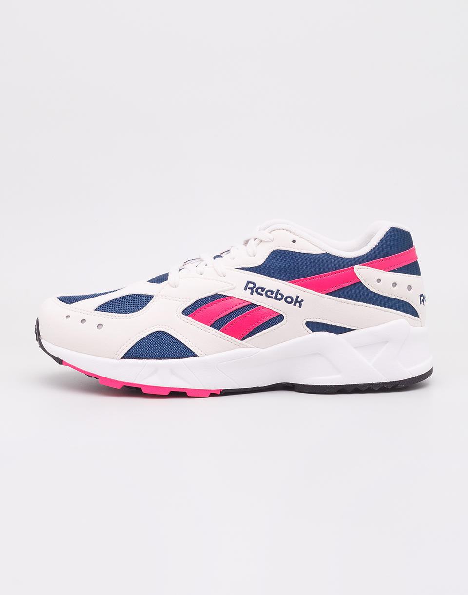 Reebok Aztrek Chalk   Royal   Rose   White 42 5