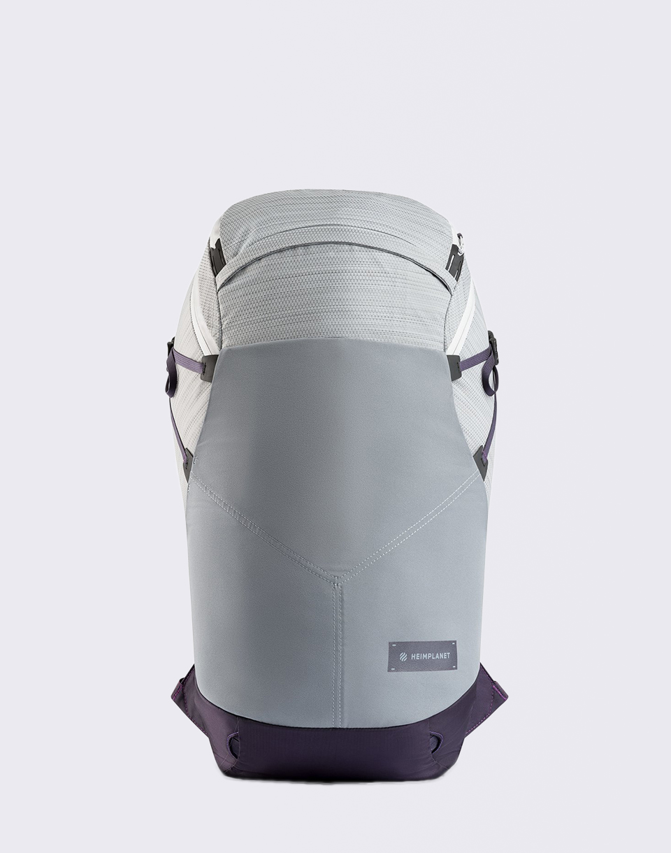 Heimplanet Motion Ellipse 25 l Light Grey   Purple