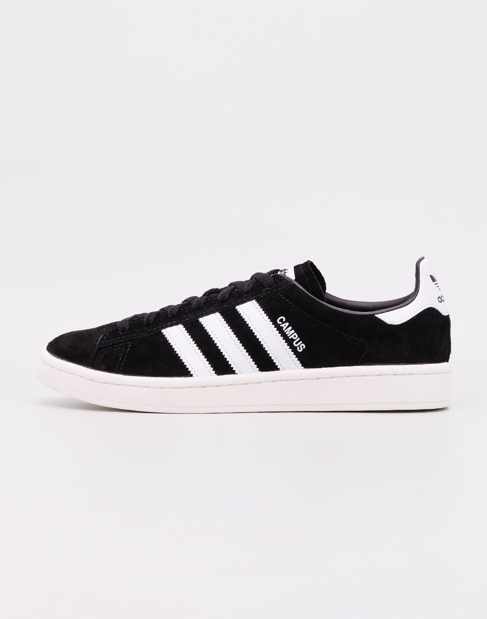 Adidas Originals Campus Core Black  Footwear White  Chalk White 42