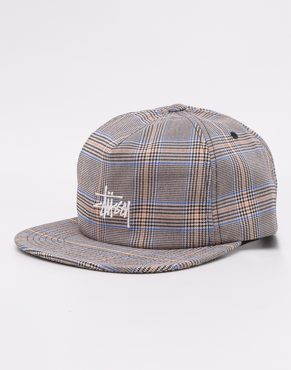 Stussy Glen Plaid Tan
