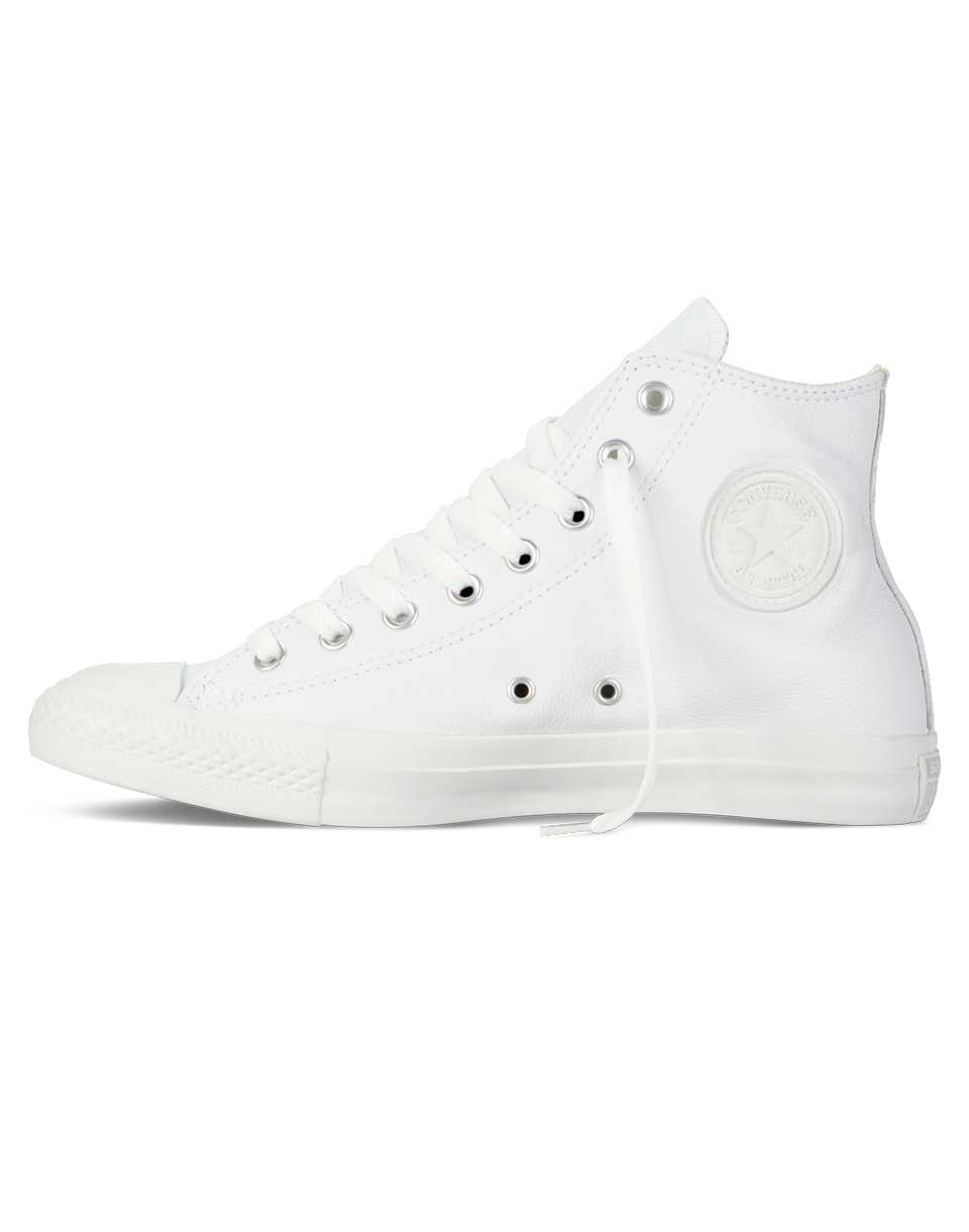 Sneakers - tenisky Converse Chuck Taylor All Star Leather White 37