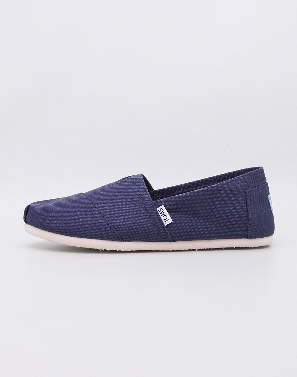 Toms Classic Navy Canvas 42