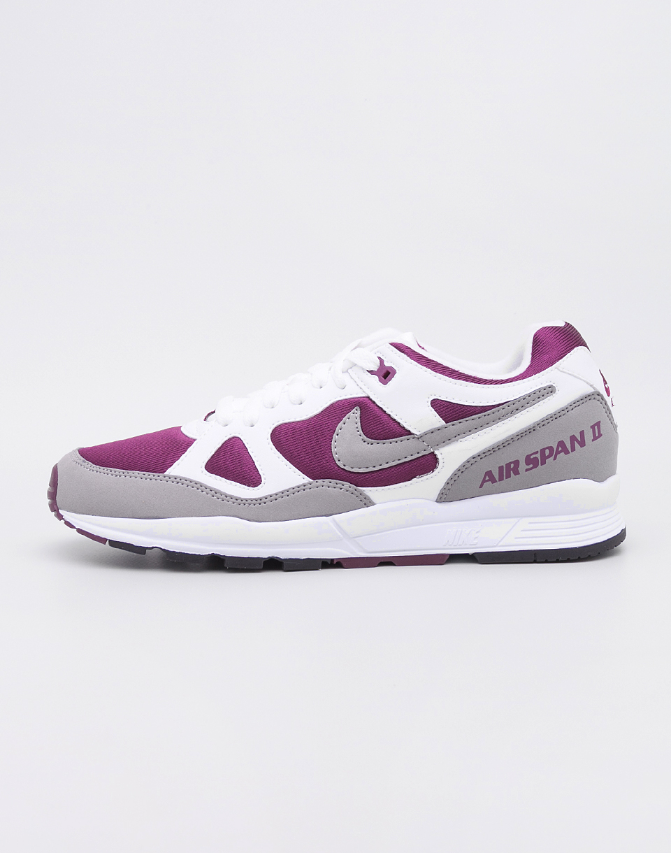 Nike Air Span II White Dust Bordeaux Black 42