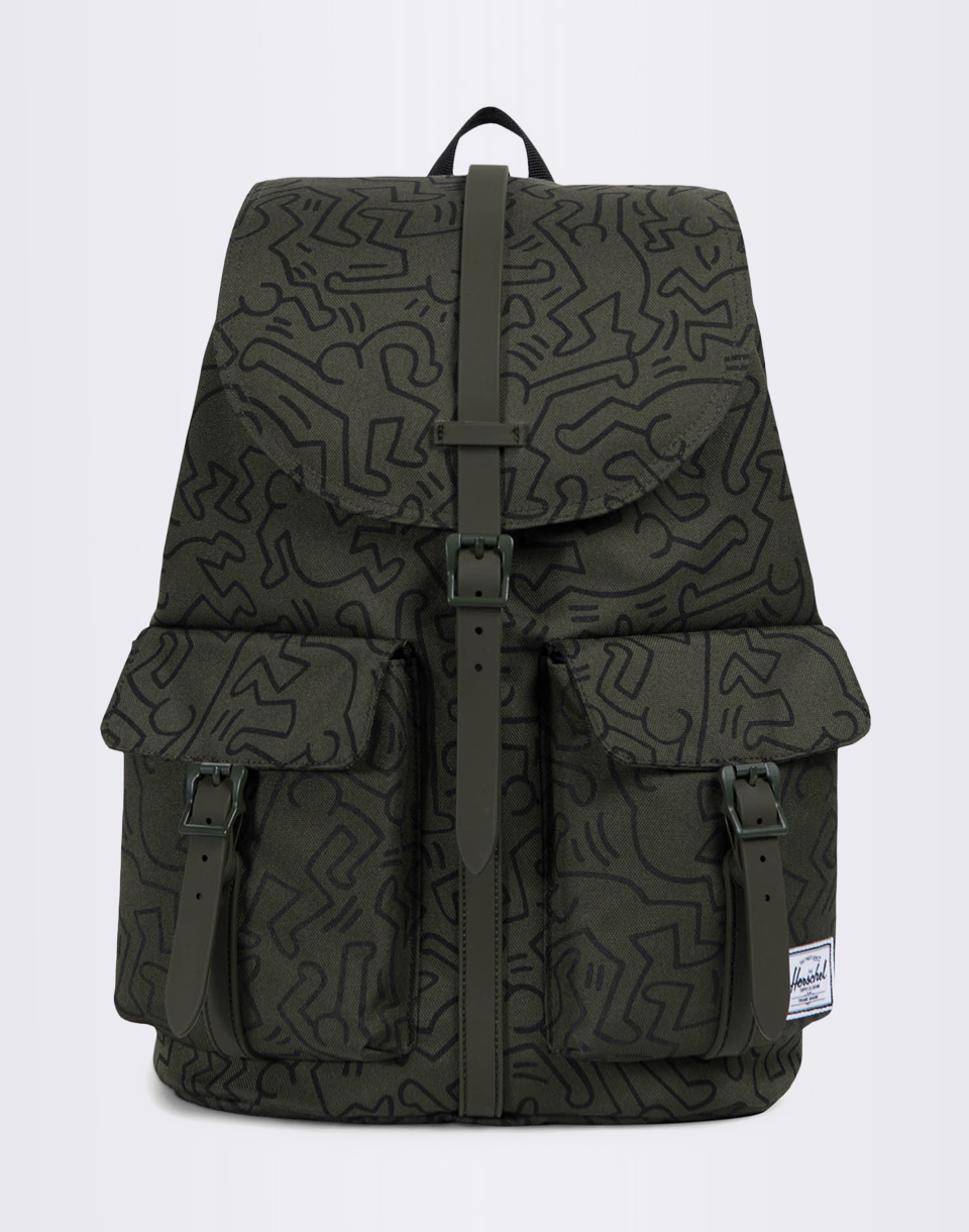 Batoh Herschel Supply Dawson Forest Night Keith Haring + doprava zdarma
