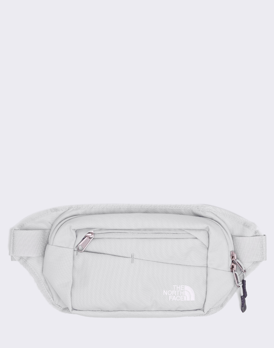 The North Face Bozer Hip Pack II High Rise Grey  TNF White