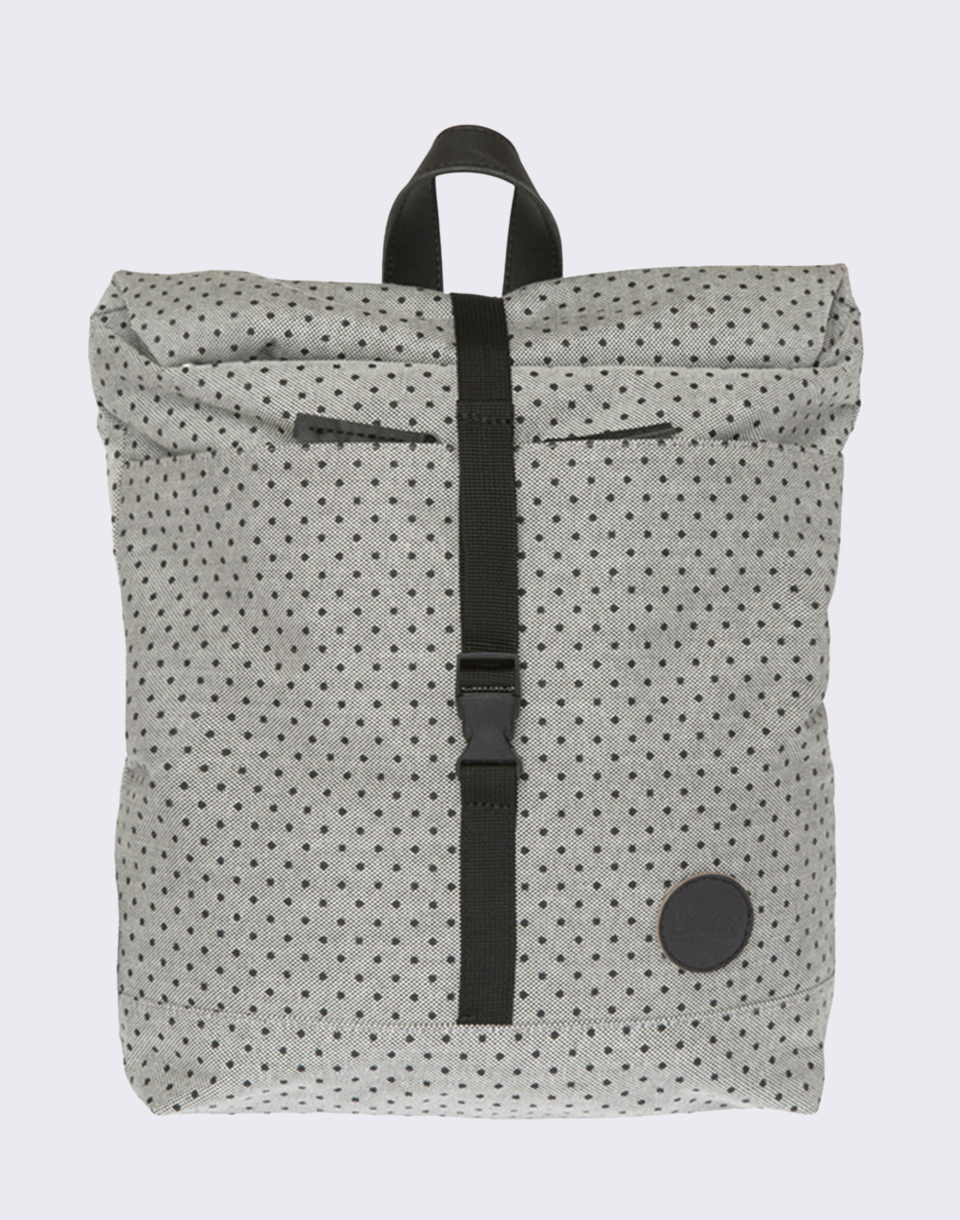 Enter Lifestyle Roll Top Mini Melange Black Black PolkaDot