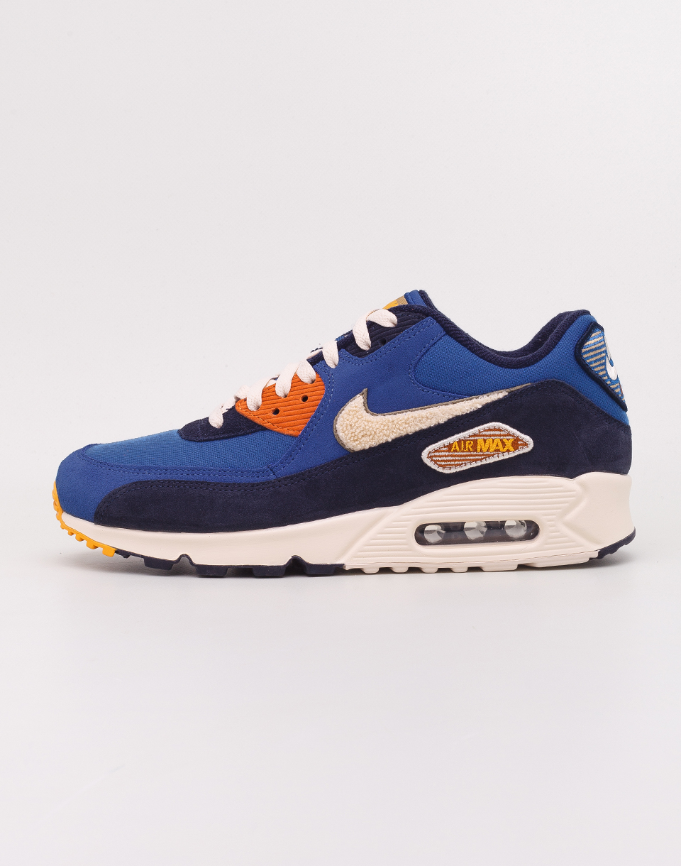 Nike Air Max 90 Premium SE Game Royal  Light Cream  Camper Green 42
