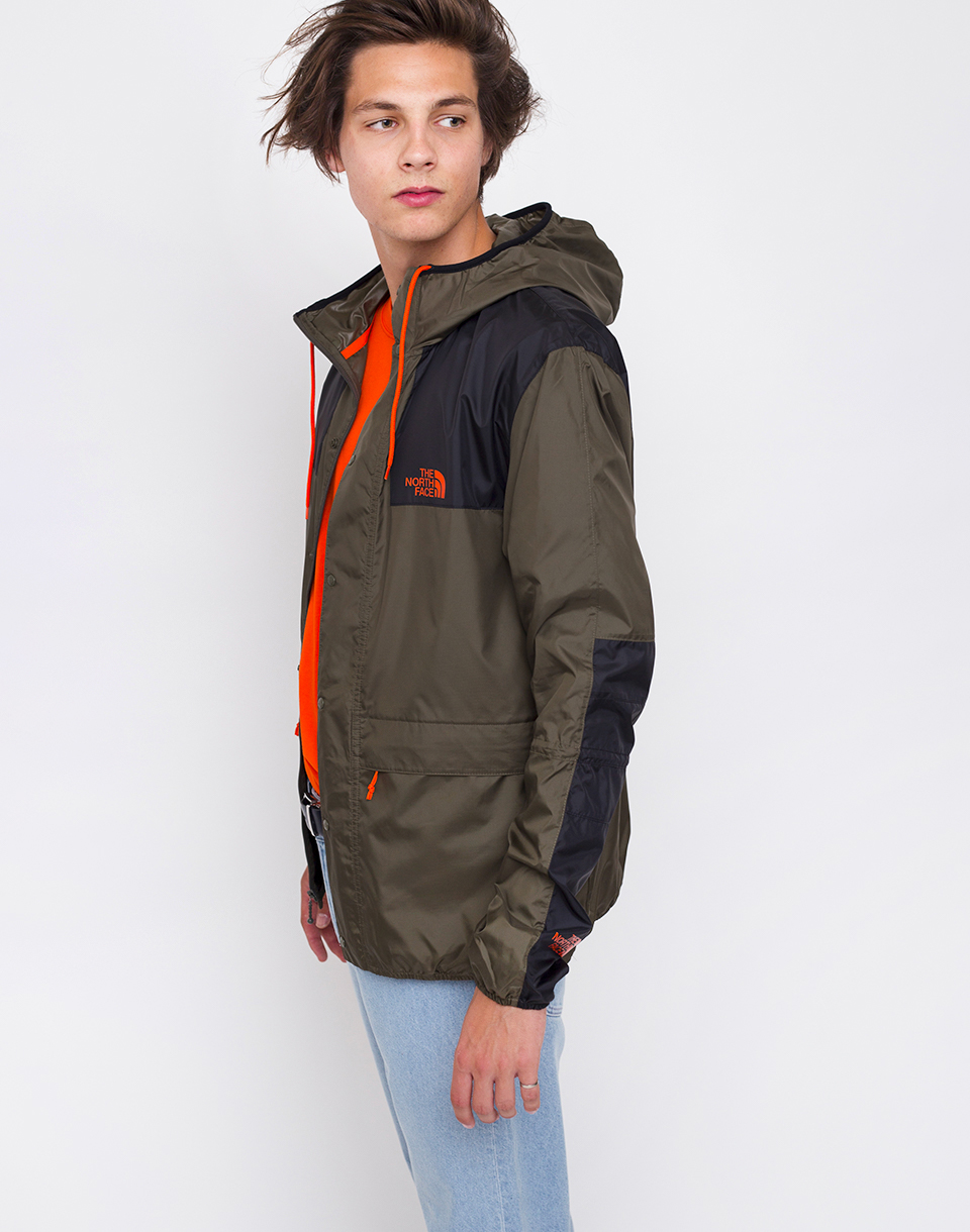 The North Face 1985 Mountain New Taupe Green  TNF Black M