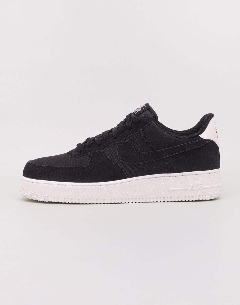 Nike Air Force 1  07 Suede Black  Black   Sail 41