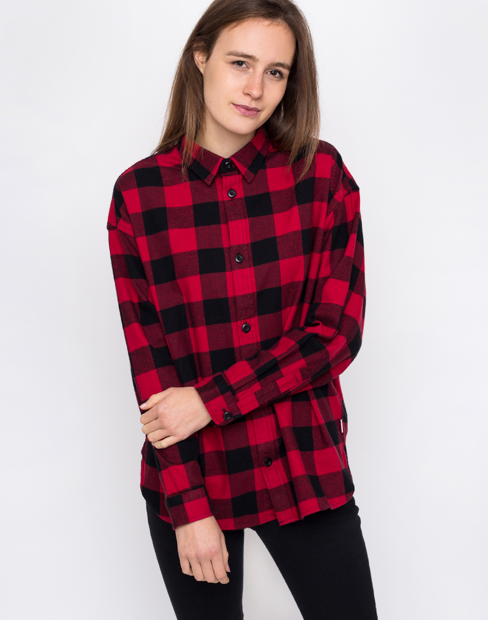 Carhartt WIP Francine Francis Check  Blast Red S