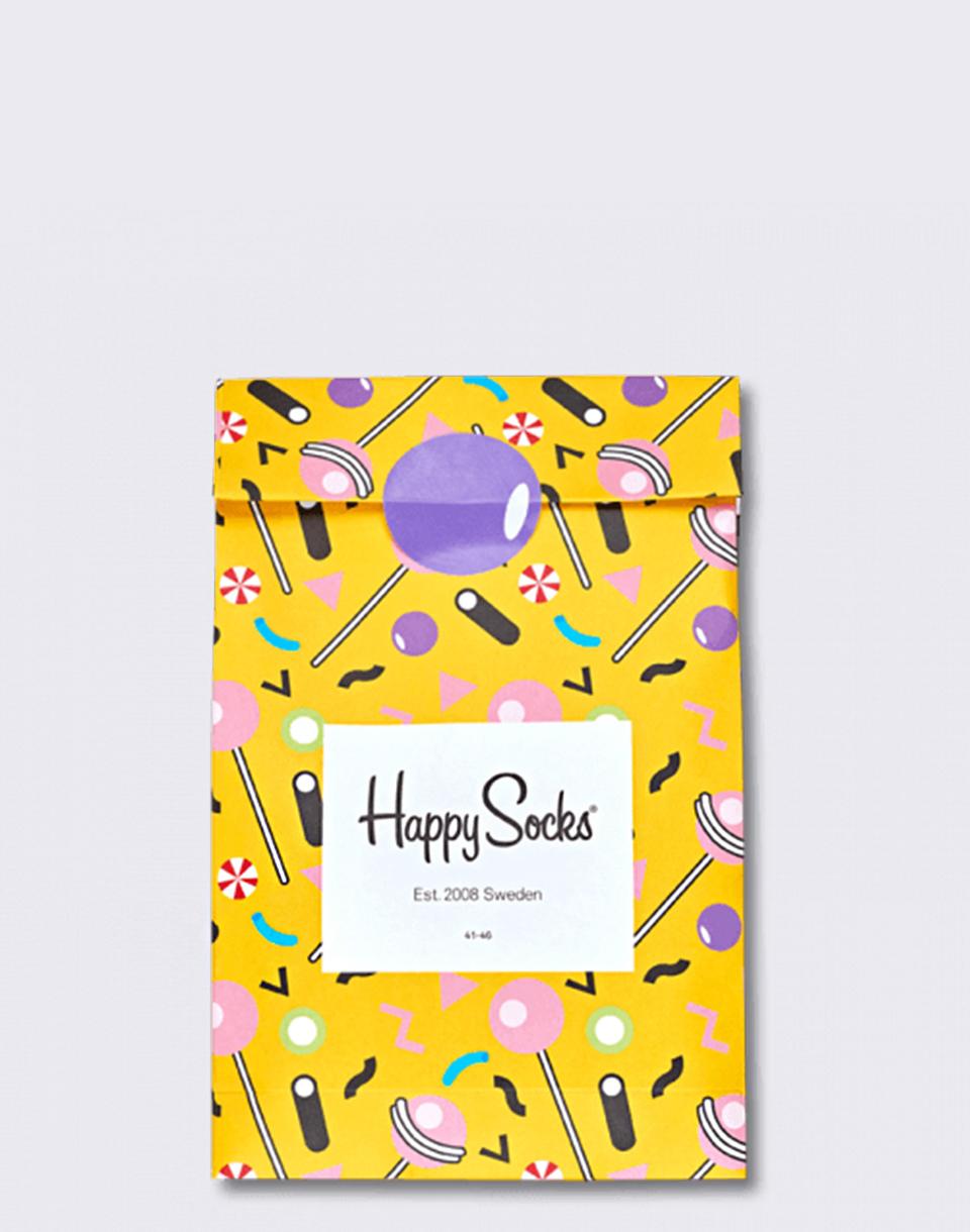 Happy Socks Candy Gift Bag XCAN08-2000 36-40