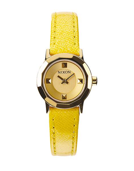 Hodinky Nixon Mini B gold/yellow + doprava zdarma