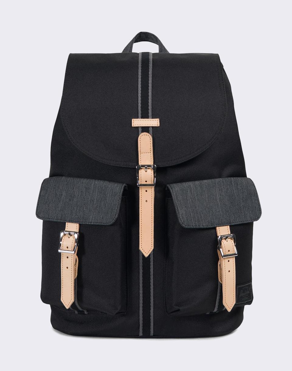 Herschel Supply Offset Dawson Black Black Denim