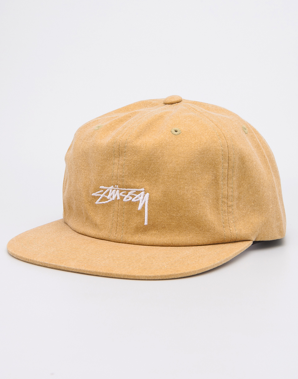 Stussy Washed Oxford Mustard