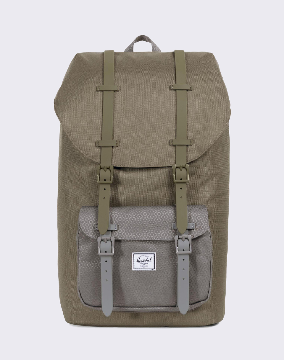 Herschel Supply Little America Ivy Green Smoked Pearl
