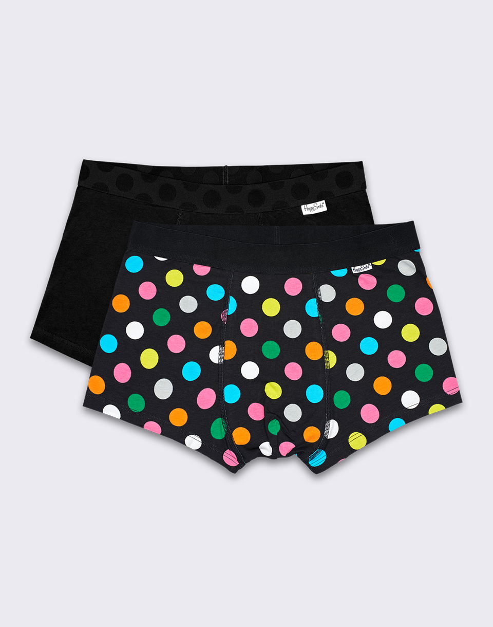 Happy Socks Big Dot Trunk 2 Pack BDO96 9000 M