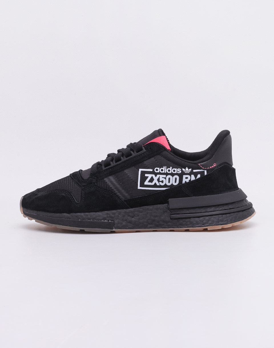Adidas Originals ZX 500 RM Core Black / Core Black / Flame Red 42