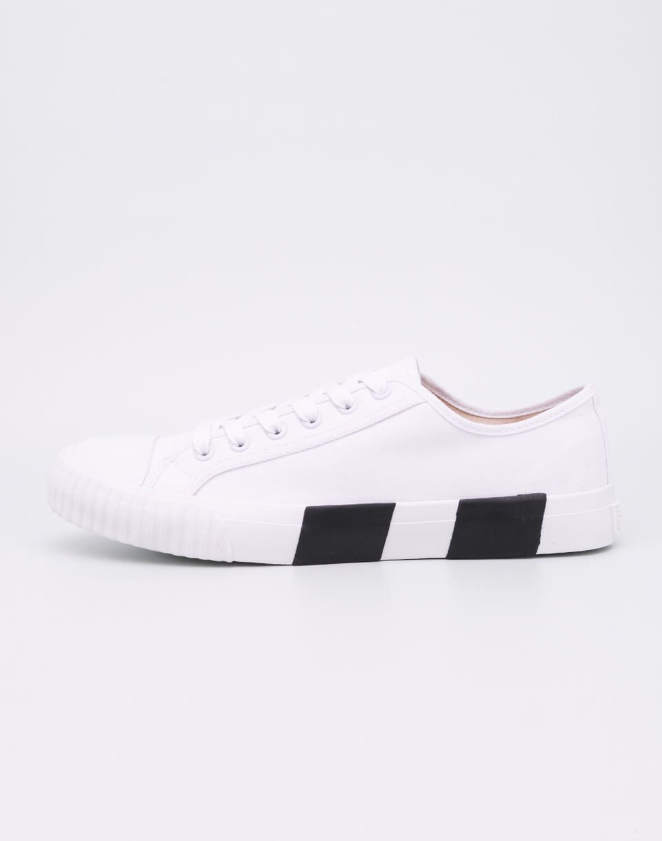 Baťa Heritage Bullets Striped Foxing White Black 42