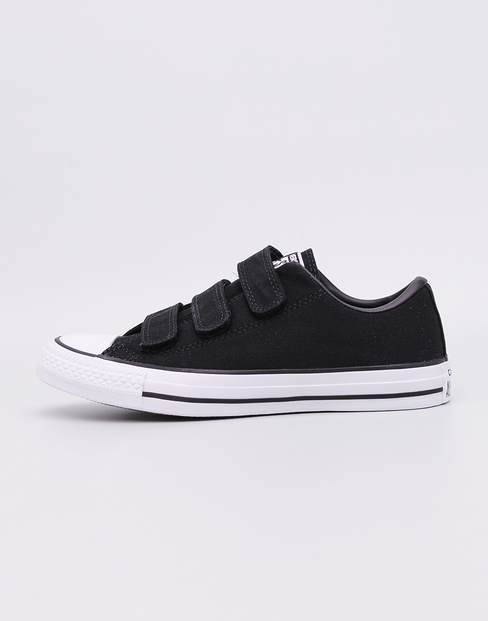 Converse Chuck Taylor All Star 3V BLACK BLACK WHITE 39