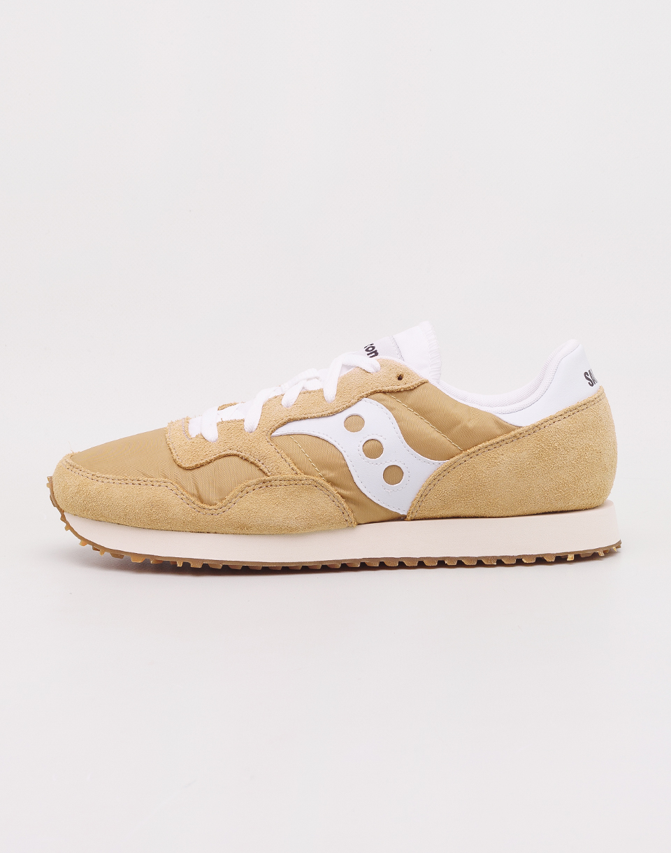 Saucony DXN Trainer Vintage Tan  White 41