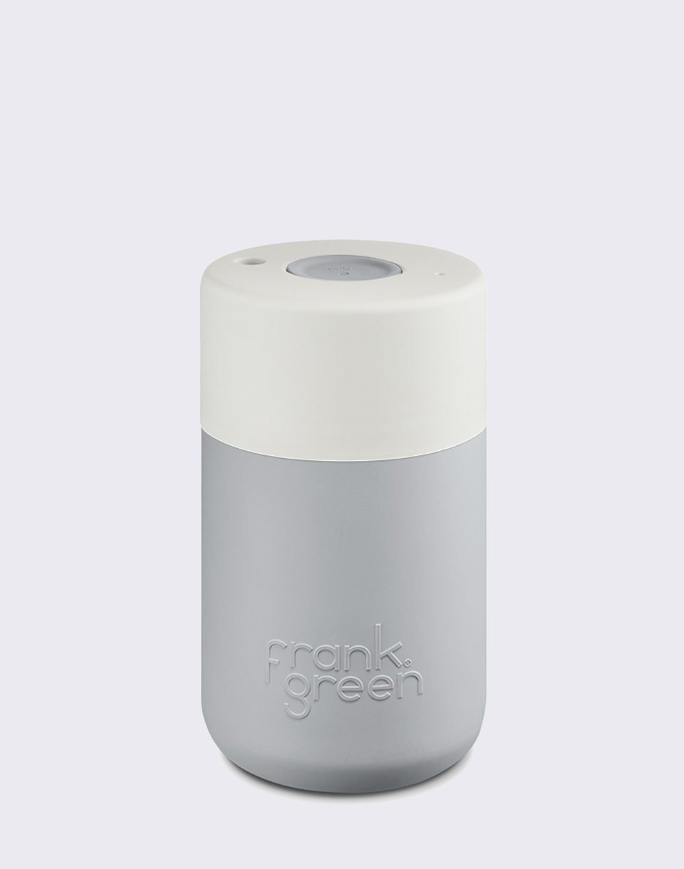 Frank Green SmartCup Grey  White  Grey