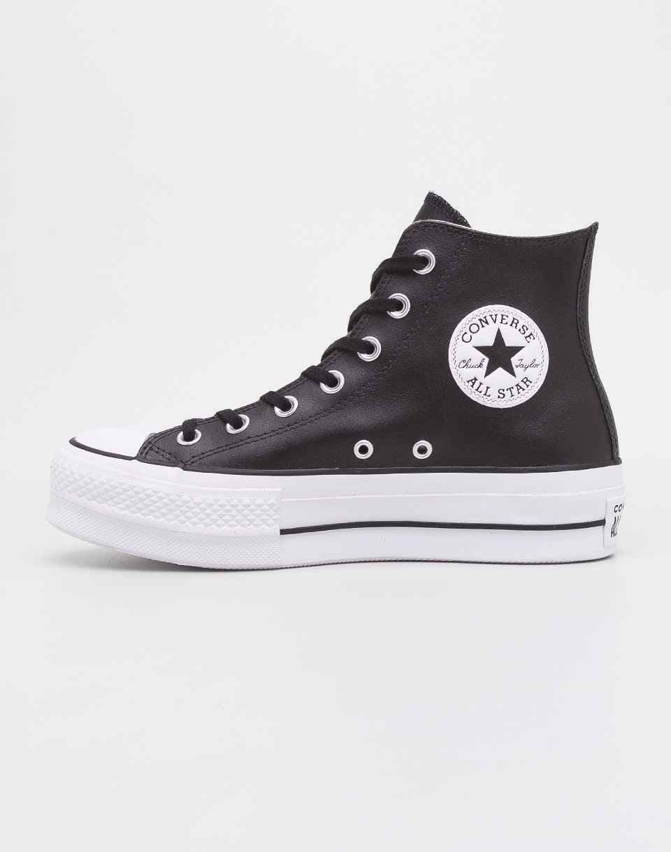Converse Chuck Taylor All Star Lift Black Black White 37 5