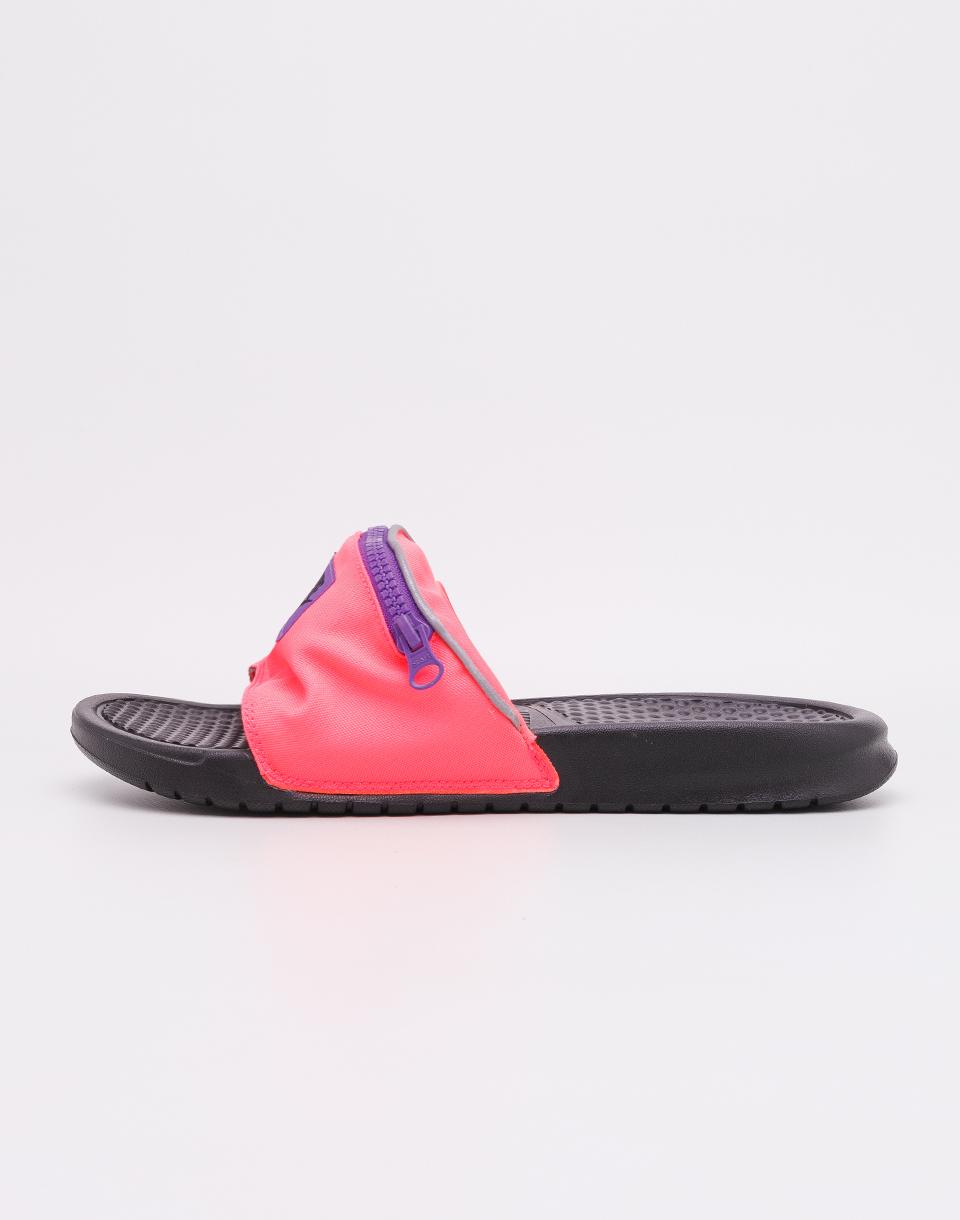 Nike Benassi JDI Fanny Pack Hyper Punch/ Black- Hyper Grape 44