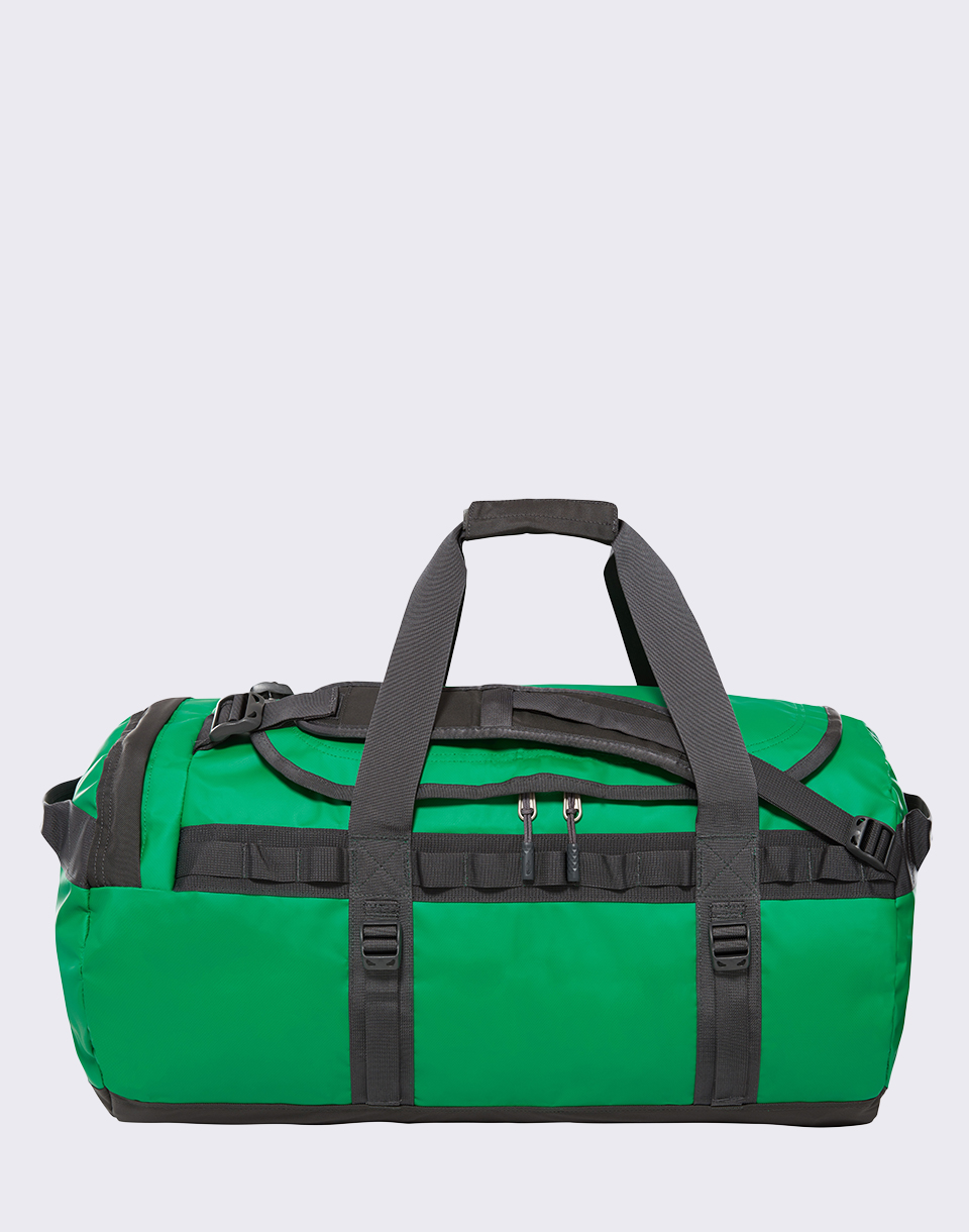 The North Face Base Camp Duffel M Primary Green  Asphalt Grey