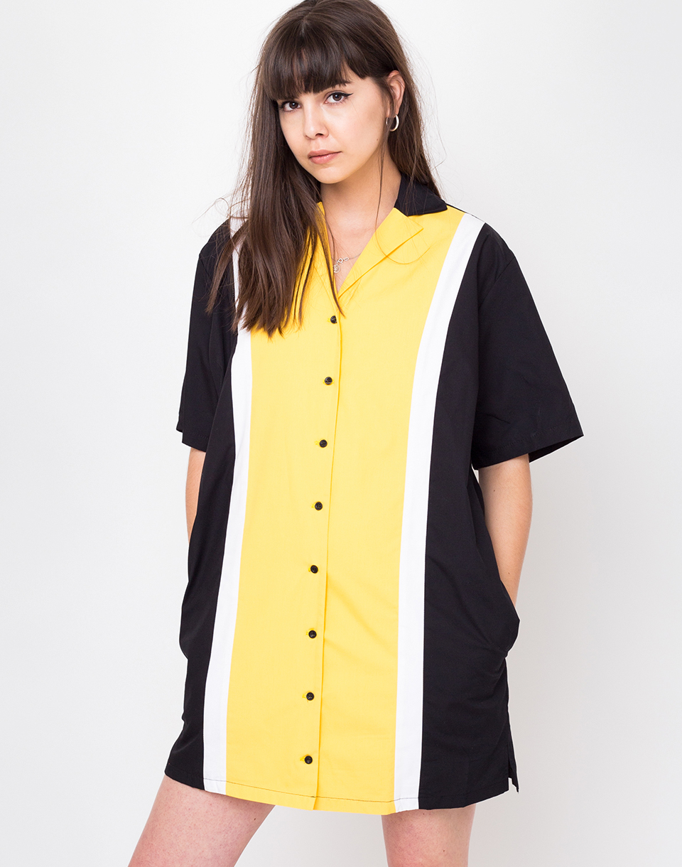 The Ragged Priest Cabana black yellow white L
