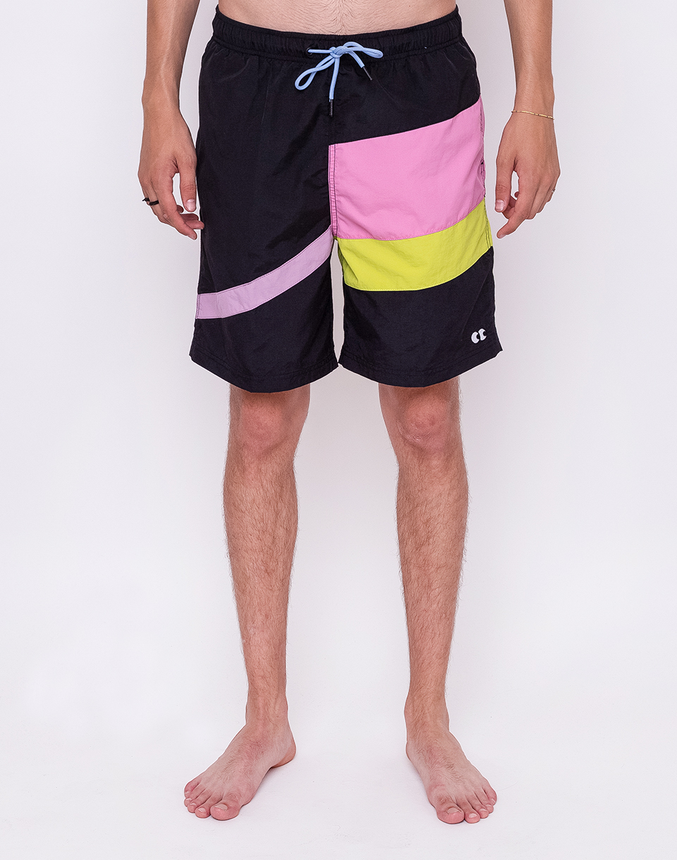 Lazy Oaf Panel Stripes Black L