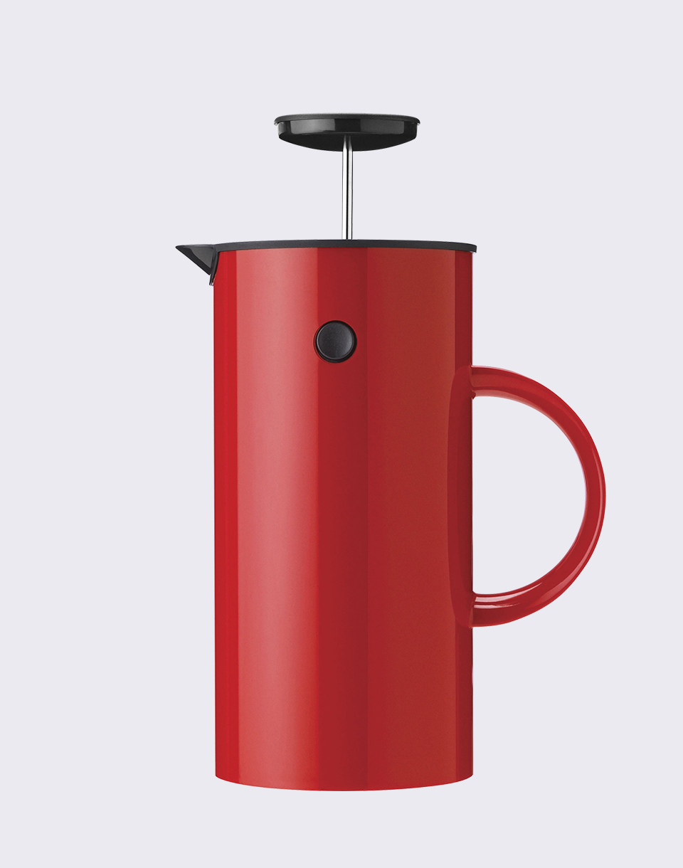 Stelton EM French Press 1 l Red