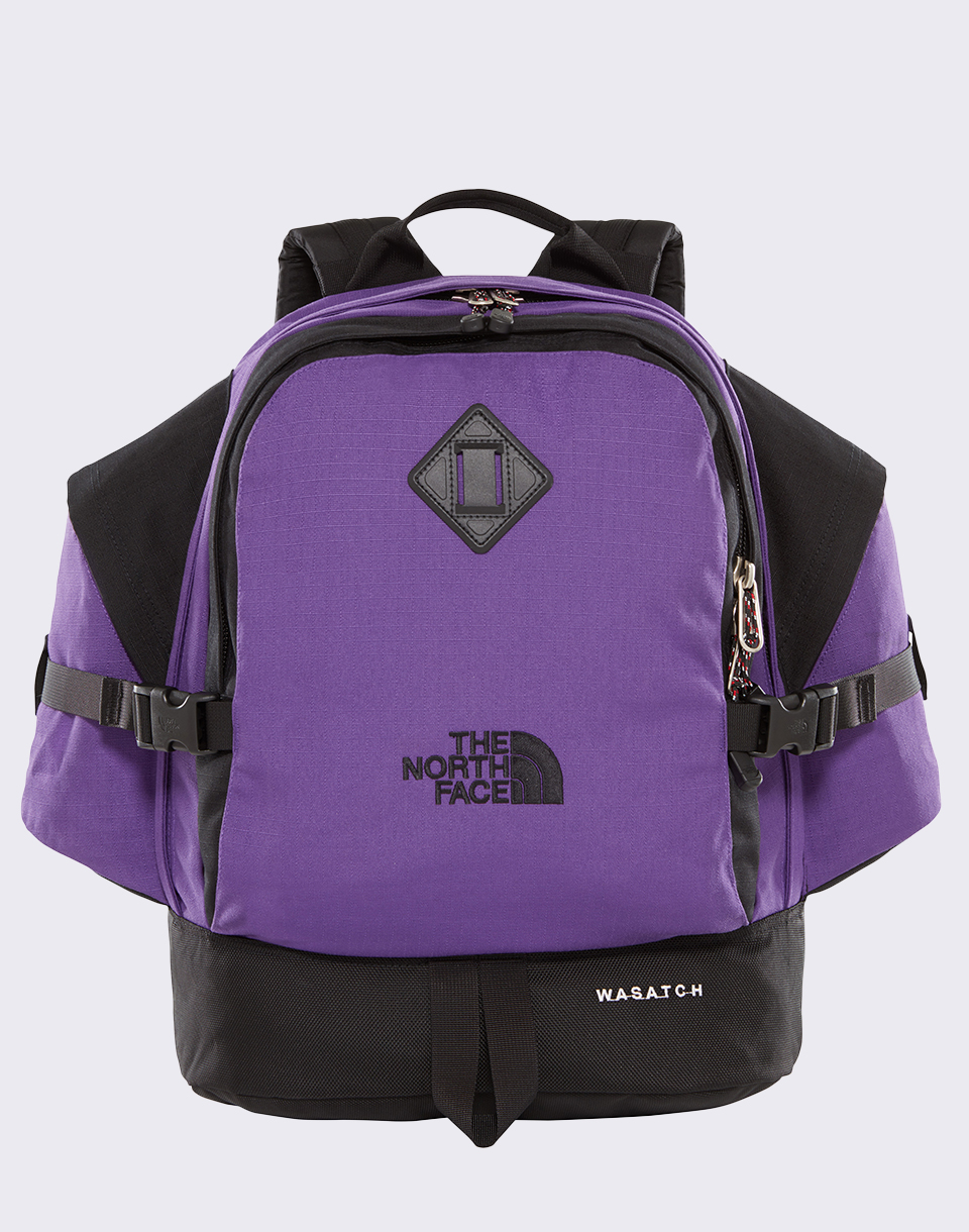 The North Face Wasatch Reissue Tillandsia Purple  TNF Black