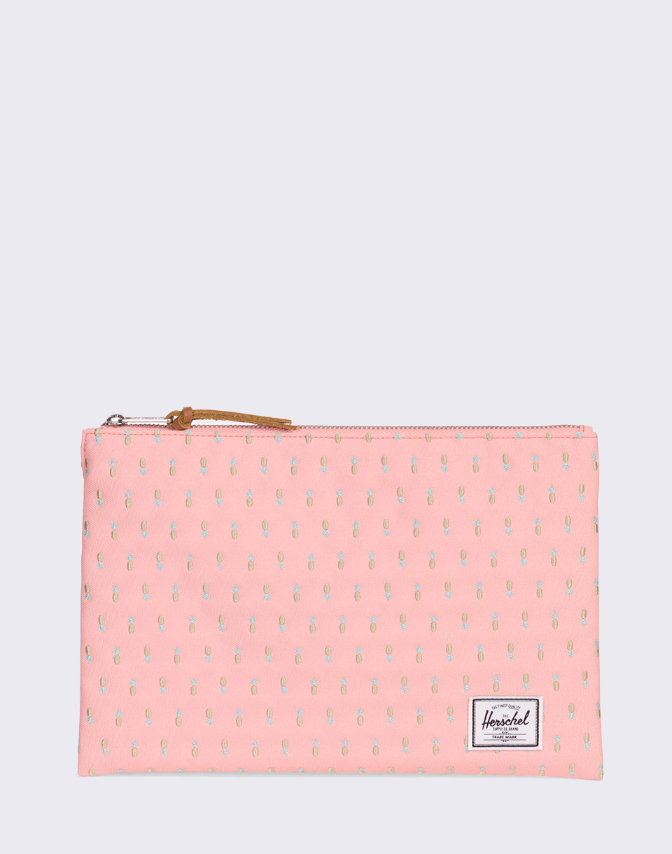 Herschel Supply Network Large Peach Pineapple Embroidery