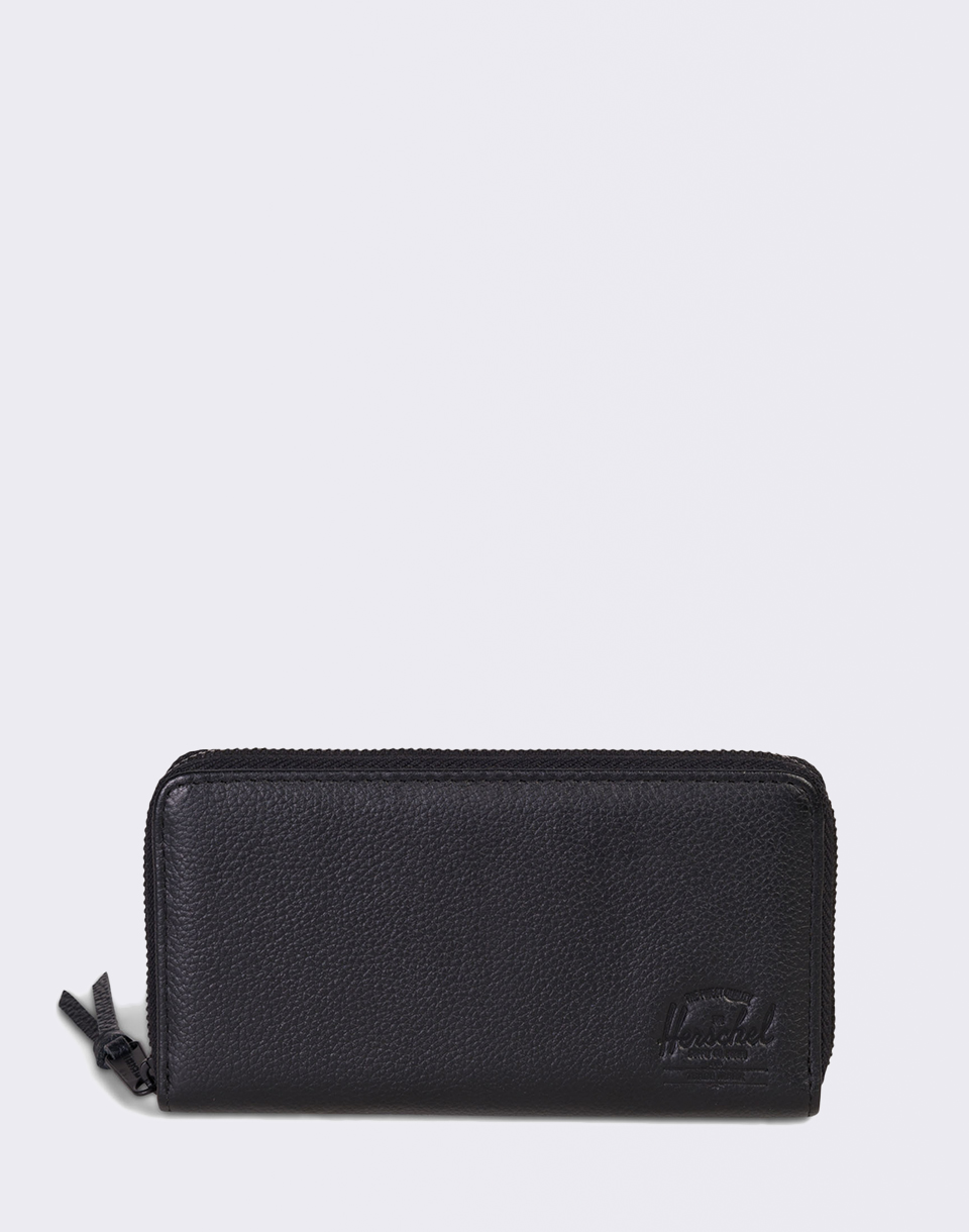 Herschel Supply Thomas RFID Black Pebbled Leather