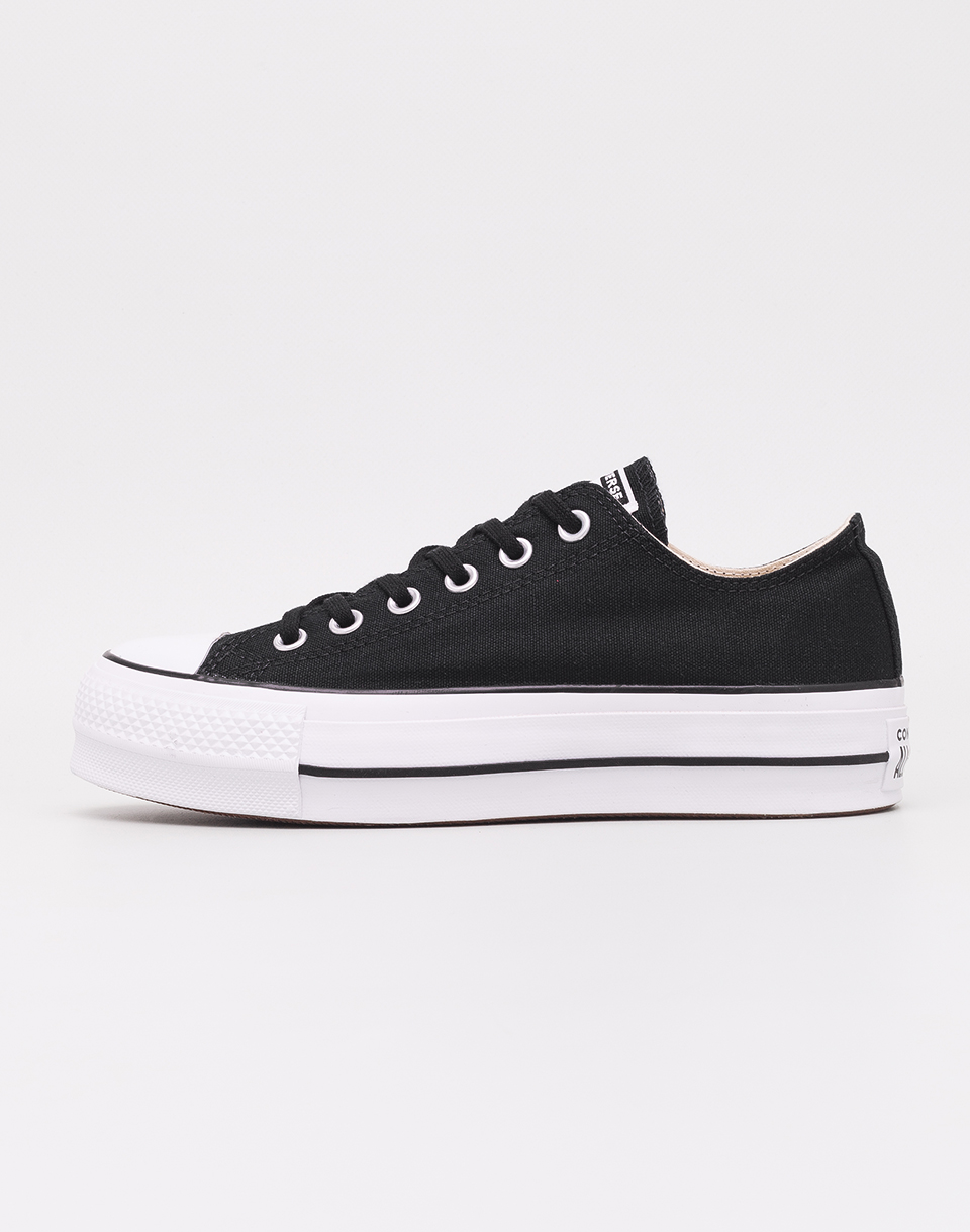 Converse Chuck Taylor All Star Lift Black White White 37