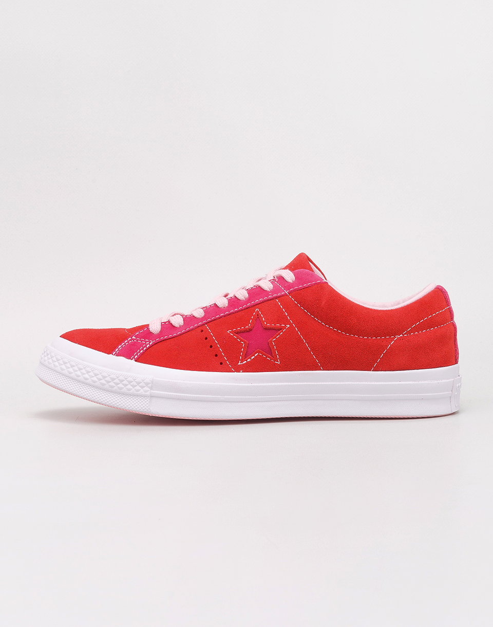 Converse One Star OX Enamel Red  Pink Pop 42